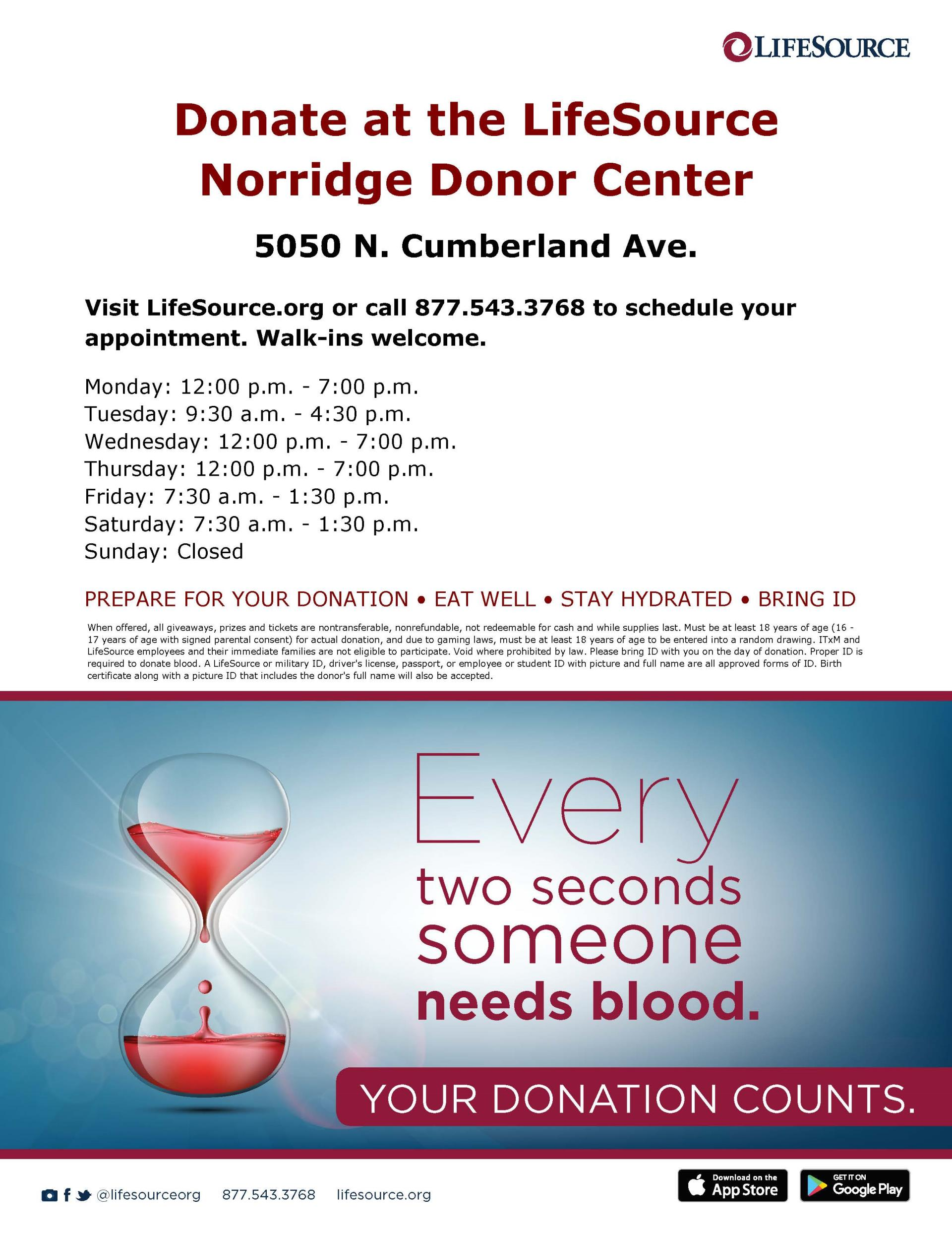 20171113_Norridge Donor Center Flyer
